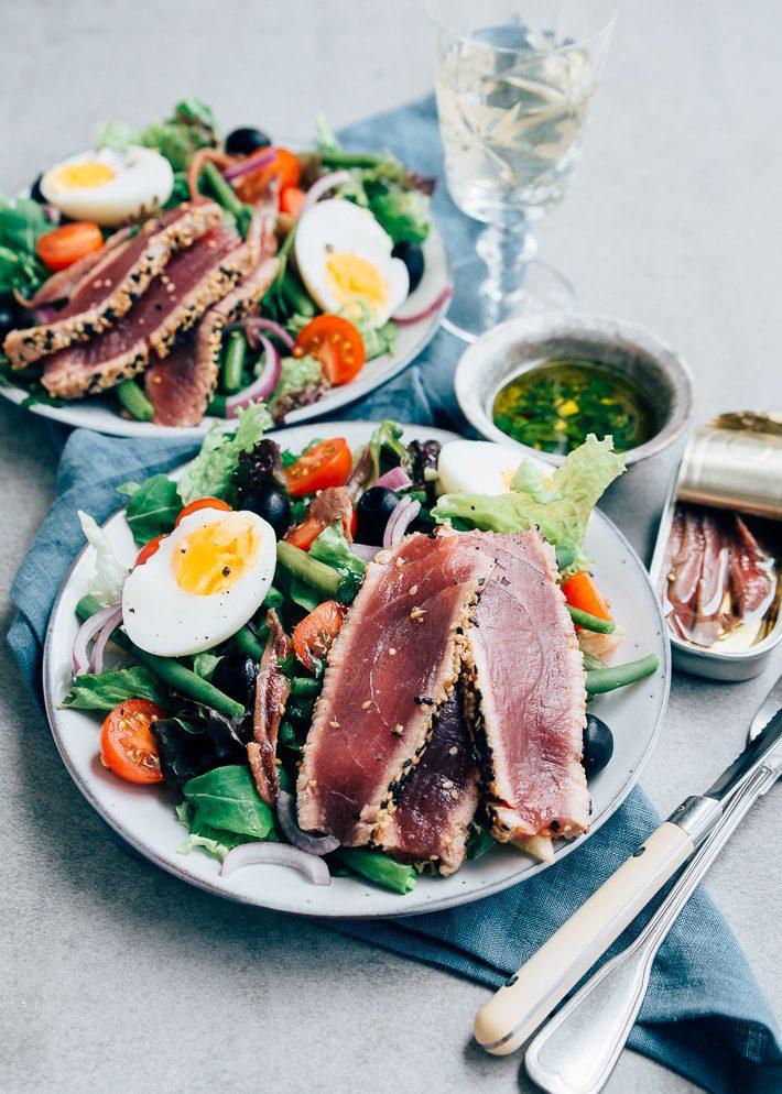 gegrilde tonijn bereiden