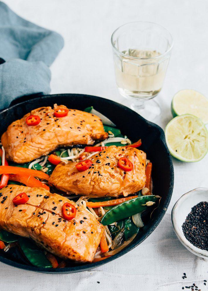 Recept Thaise zalm