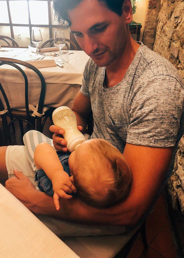 Uit eten gaan met een baby