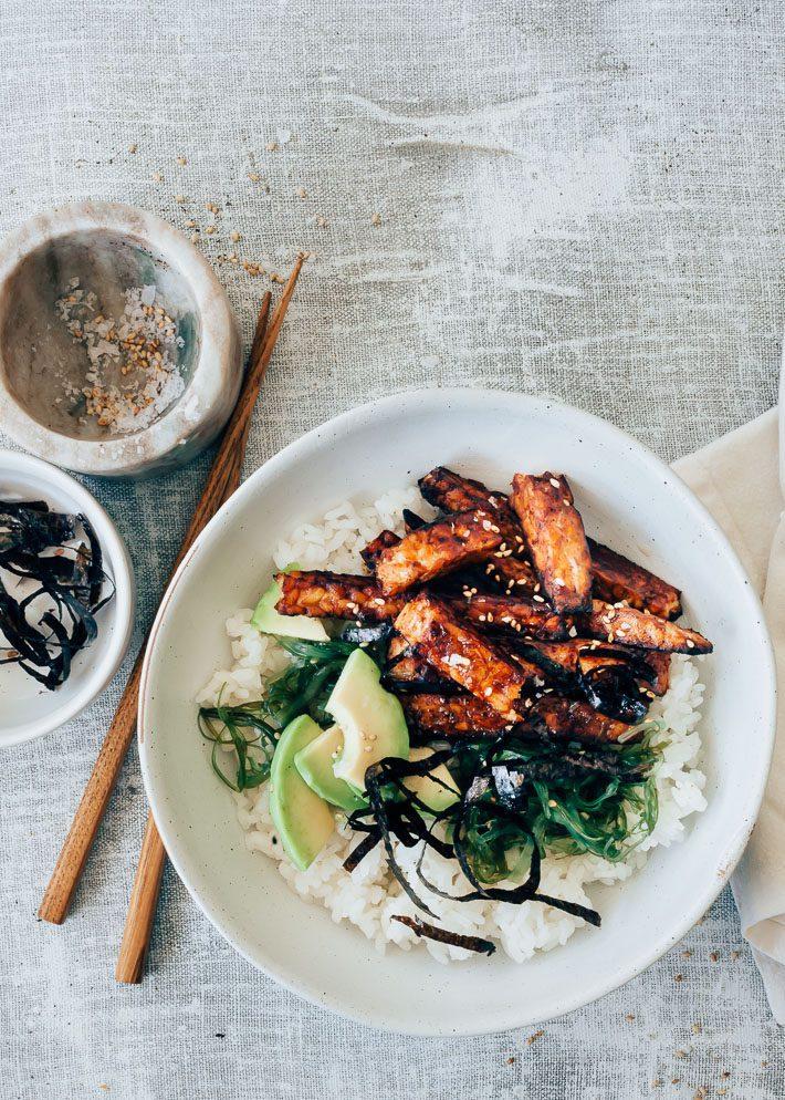 sushi bowl recept