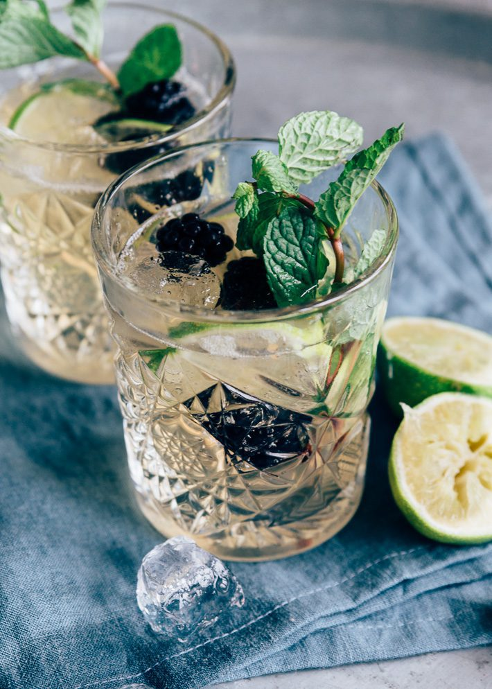 Ginger ale moscow mule recept