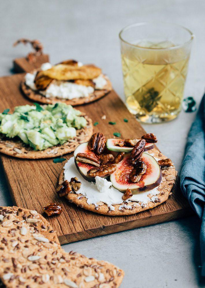 gezond beleg cracker
