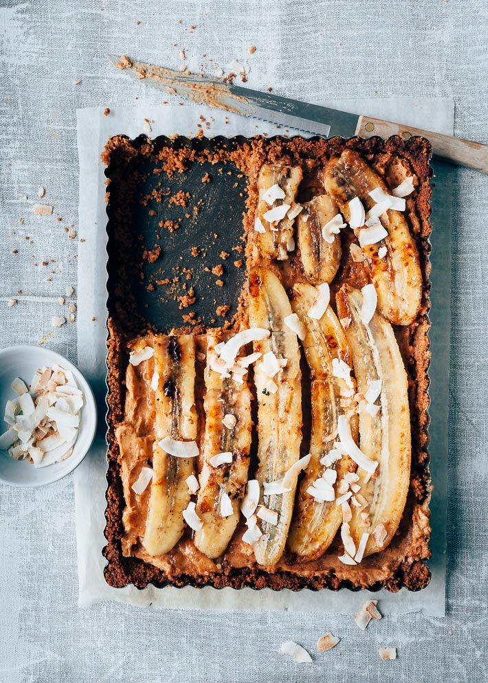 taart met banaan