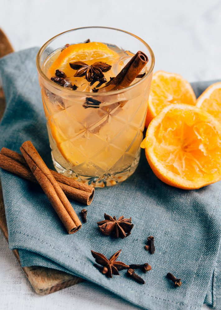 Virgin tonic met spices recept