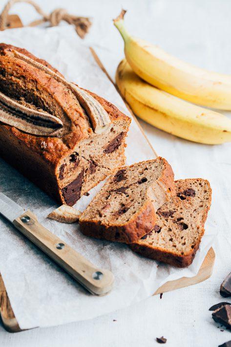 Lekkerste banana bread met pindakaas