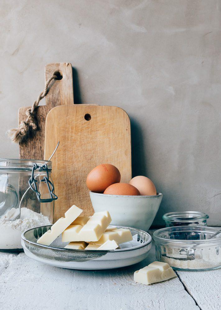 Witte chocolademousse