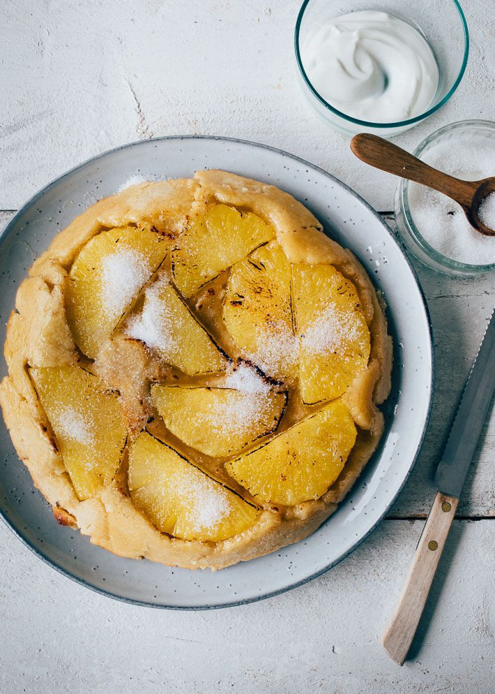Ananas tarte tatin