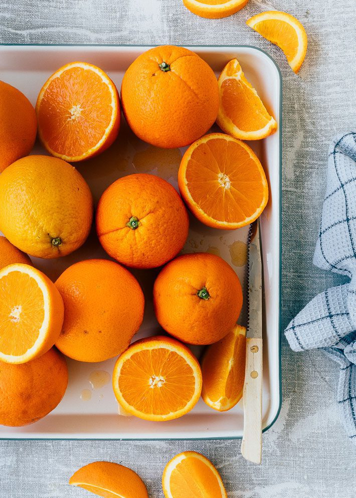 Sinaasappel taart