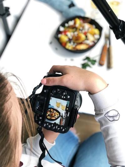 Behind the scenes: Een kookdag in foto's