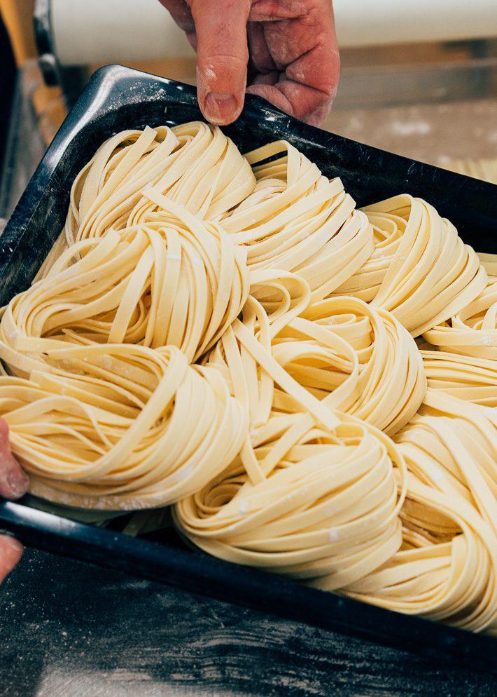 Op bezoek bij de pastafabriek