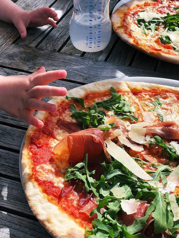 pizza bij Tijn akersloot