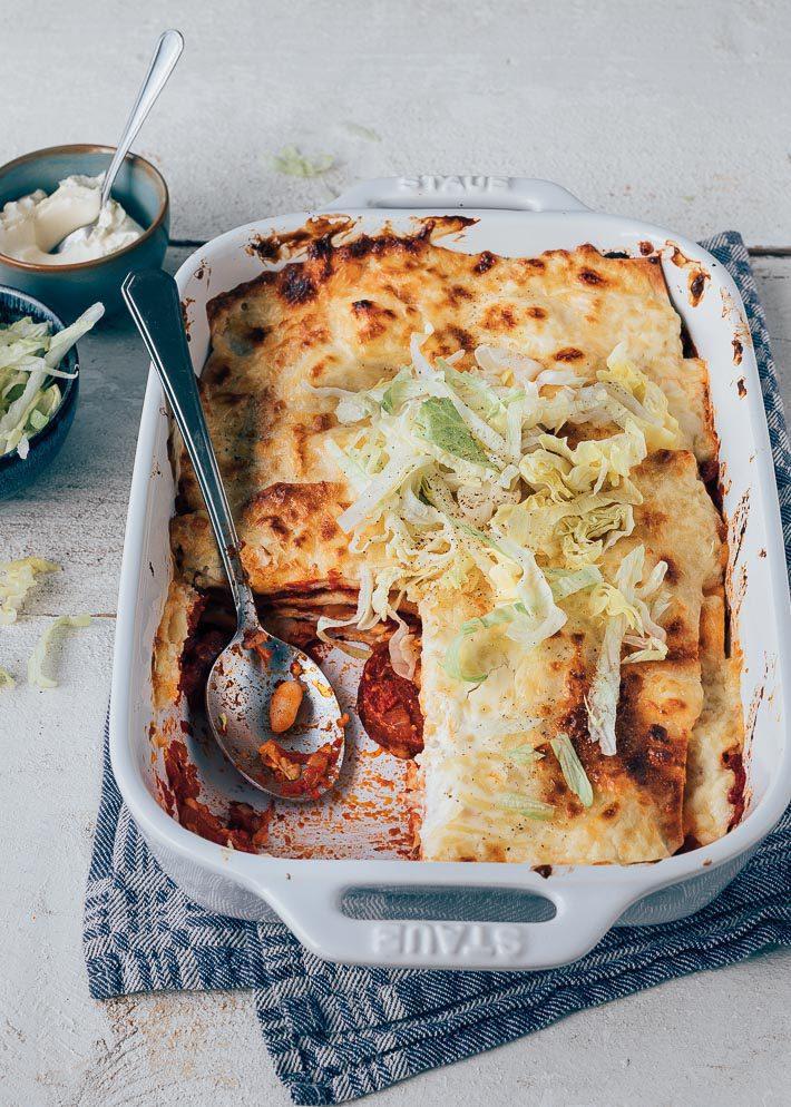 Mexicaanse Ovenschotel Met Kip En Chorizo Uit Pauline S Keuken