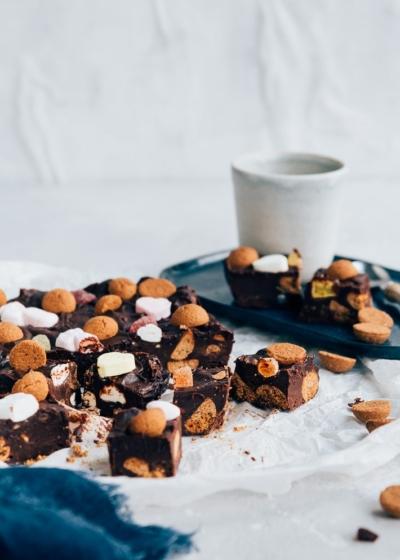 Strooigoed fudge (3 ingrediënten)