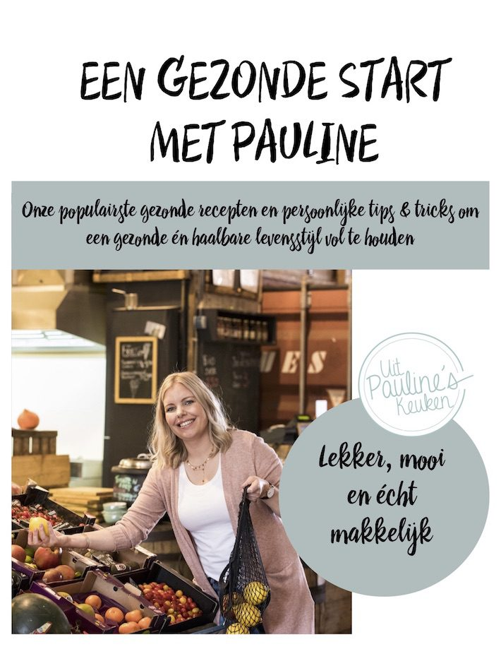 Een gezonde start met Pauline – gratis E-book