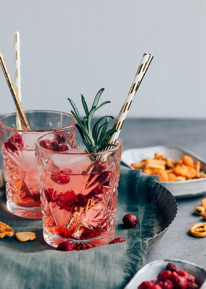 Gin Tonic met Frambozen + Terugblik op 2019