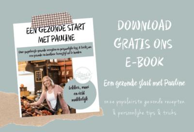 Een gezonde start met Pauline - gratis E-book