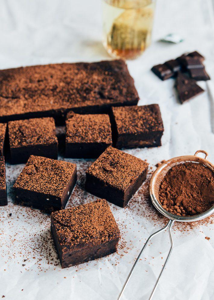 Gezonde(re) brownies uit de Airfryer