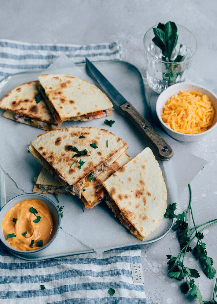 5 x quesadilla recepten