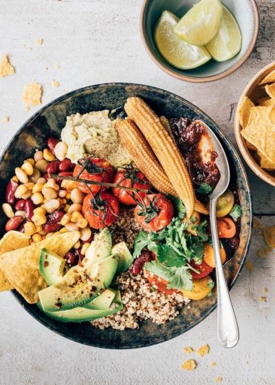 Mexicaanse quinoa bowl