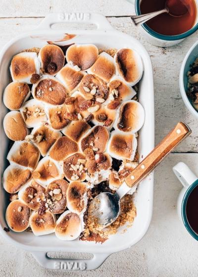 S'mores uit de oven met noten