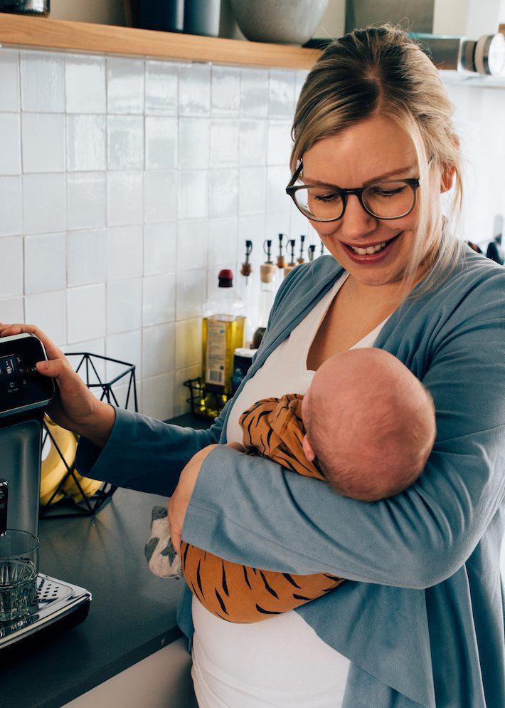 Mijn ochtendroutine met een peuter en een baby