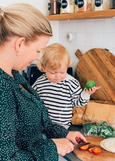 Gezond koken met een peuter en een baby? Zo doe ik het