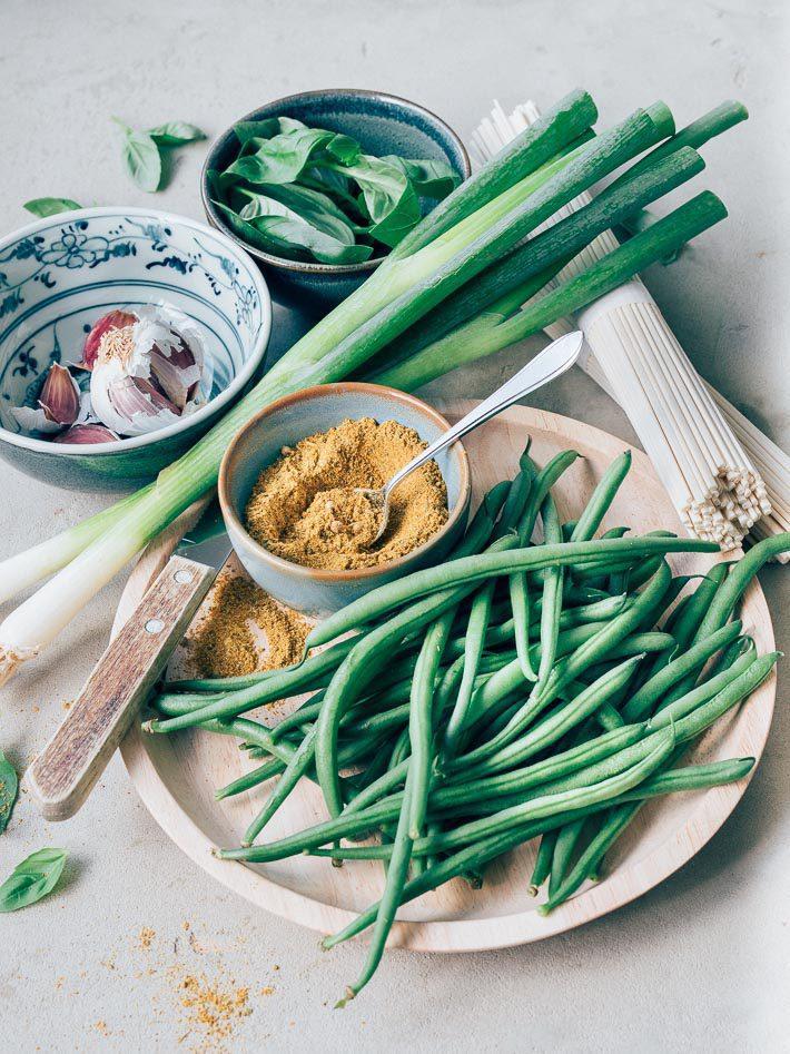 Pittige gehaktballetjes met Thaise kruiden