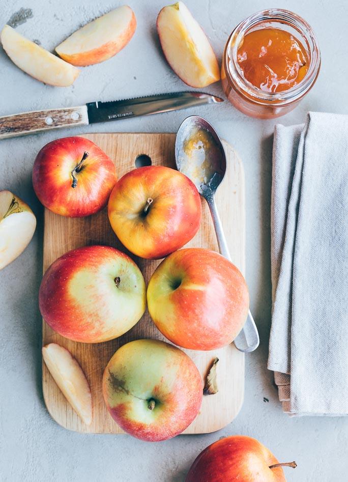 Apfelstrudel met bladerdeeg