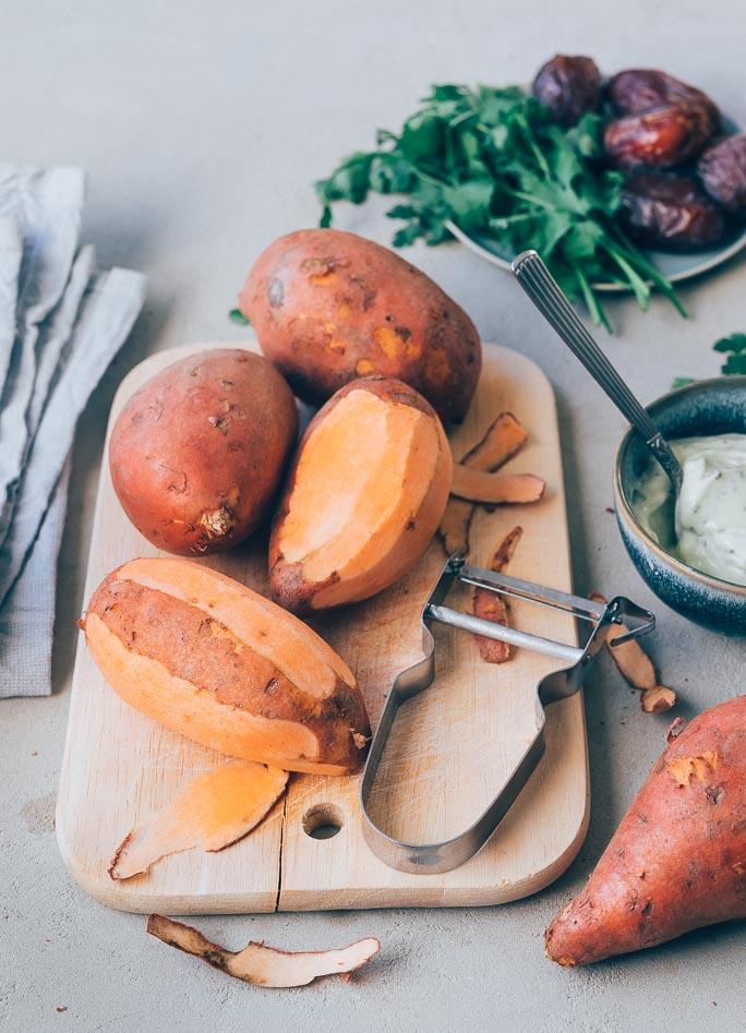 Zoete aardappelpuree – Basisrecept
