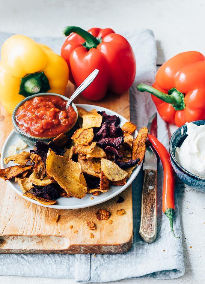 Vegetarische Nachoschotel Uit Pauline S Keuken