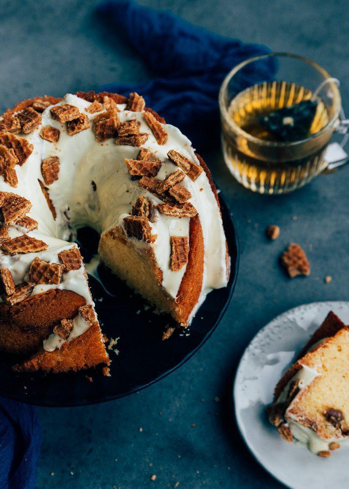 Stroopwafel tulband cake