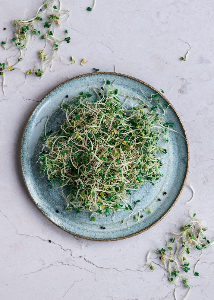 Broccolisoep met kaascroutons