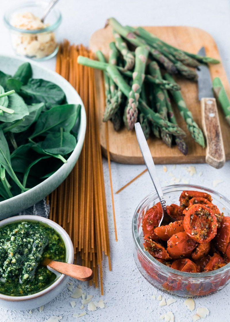 Pasta Met Spinazie Vegetarisch Recept Uit Pauline S Keuken