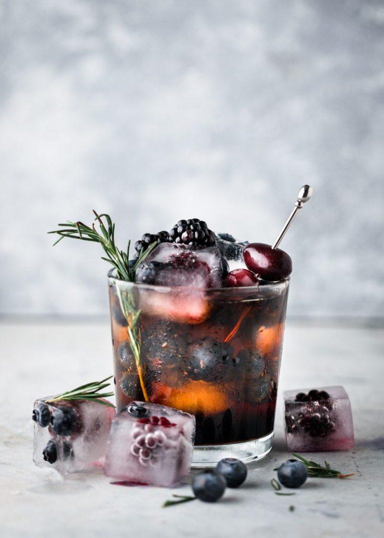 Mocktail recept met bramen