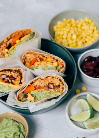 Mexicaanse burrito's