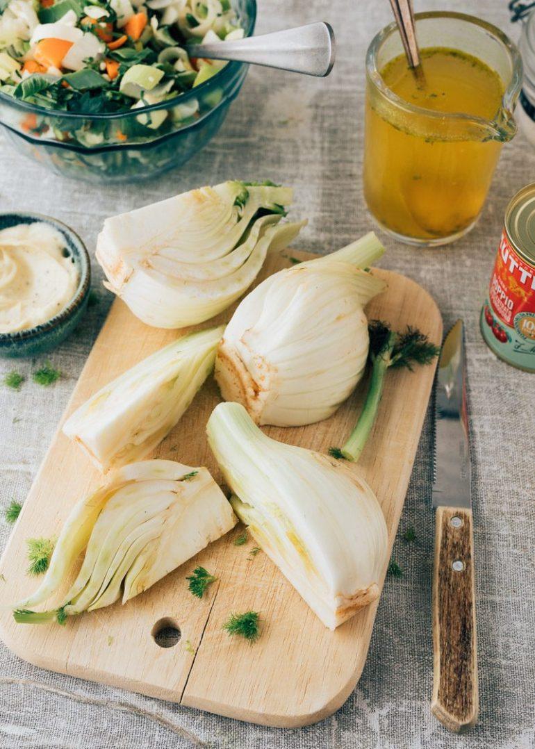 Bouillabaisse met garnalen