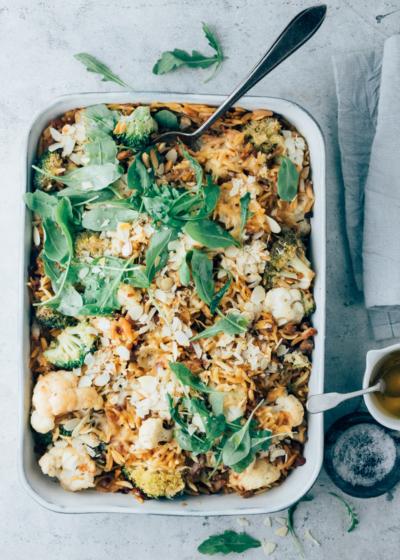 Broccoli ovenschotel met orzo