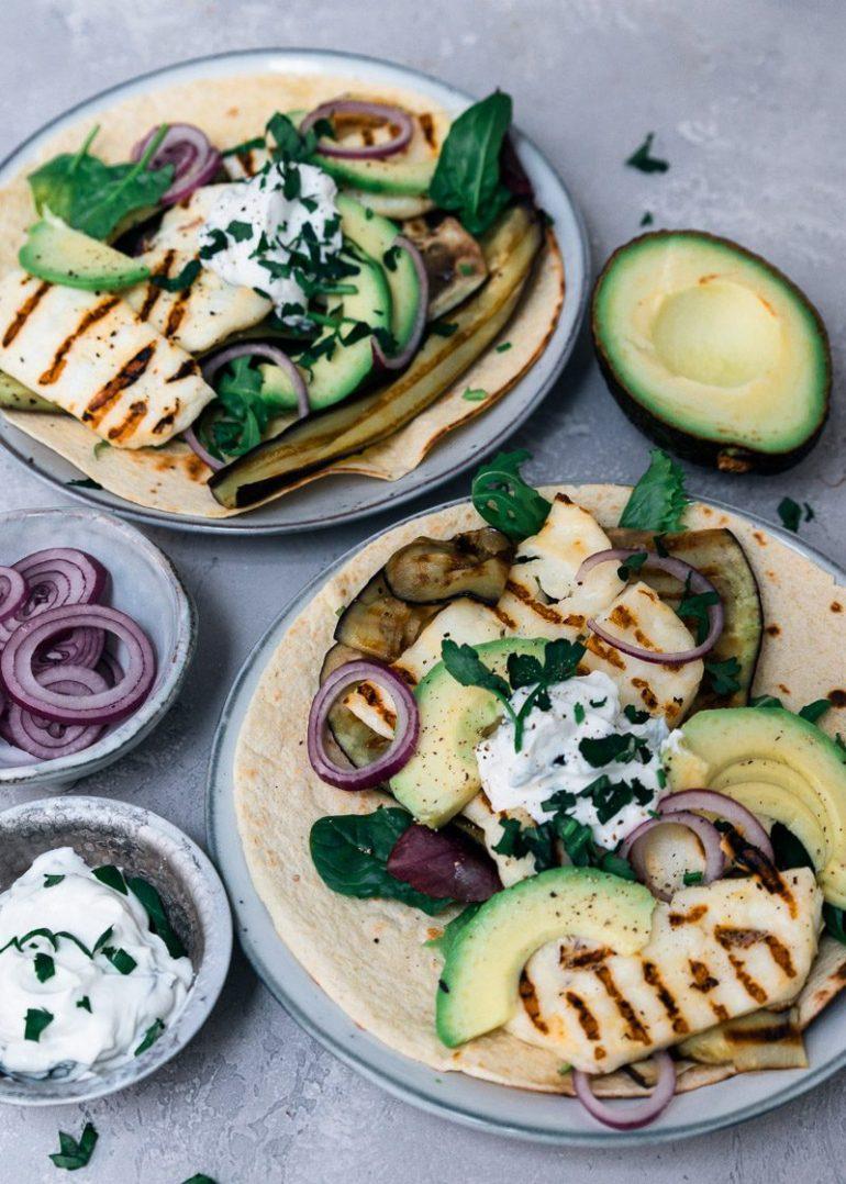 Wraps met avocado